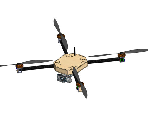 Trevor Open Source Long Endurance Quadcopter